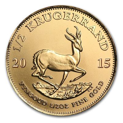 South American Krugerrand gold bullion 1oz