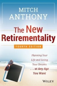 "review of the book ""The New Retirementality"" by Mitch Anthony"