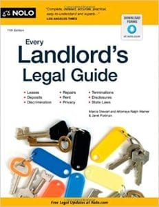 review of the book Every Landlord's Legal Guide by Marcia Stewart