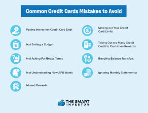 common credit card mistakes to avoid