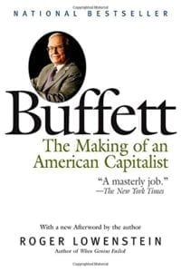 "review of the book ""Buffett - the making of an american capitalist"""