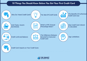 10 Things You Should Know Before You Get Your First Credit Card