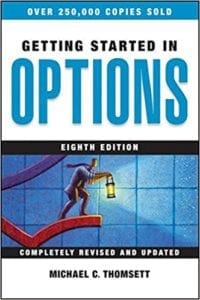 "review of the book ""Getting Started In Options"" by Michael C. Thomsett"