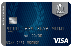 USAA Rate Advantage Visa Platinum Credit Card