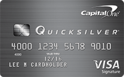 Capital One Quicksilver Cash Rewards Card