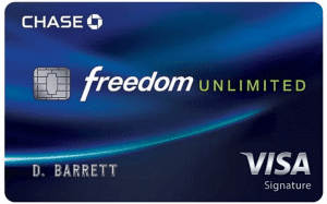 Chase Freedom Unlimited review 2019