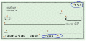 how to write a check - part 10,11
