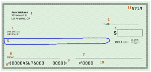 how to write a check - part 4,5