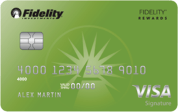 Fidelity® Rewards Visa Signature® card review
