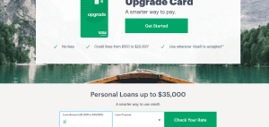 Upgrade Personal Loan