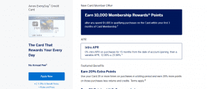 American Express Everyday Credit Card_Apply now