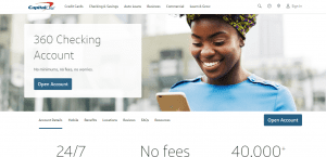 Capital One 360_Homepage