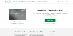 Capital One Quicksilver Credit Card_Getting Started