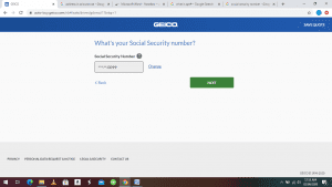 GEICO Car Insurance - How to get a quote 5