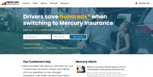 Mercury Car Insurance - How to get a quote 1