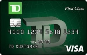 TD First Class Visa Signature Credit Card Review