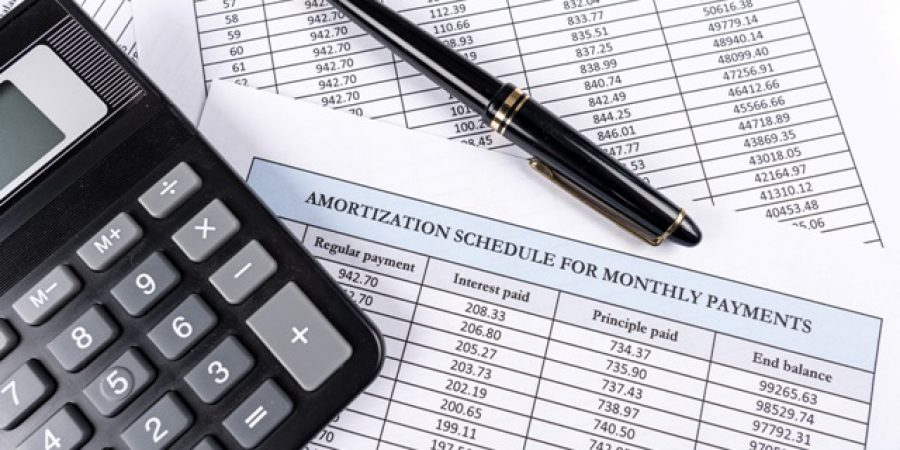 Amortization schedule documents
